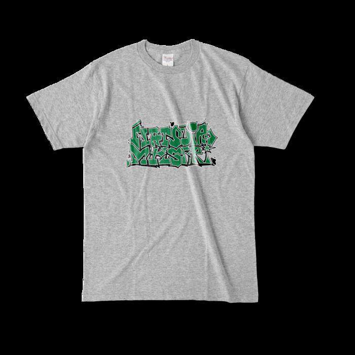 カラーTシャツ - L - 杢グレー
