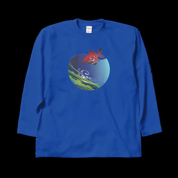ロングスリーブTシャツ - XL - ロイヤルブルー