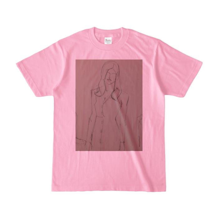 カラーTシャツ(淡色) - S - ピーチ