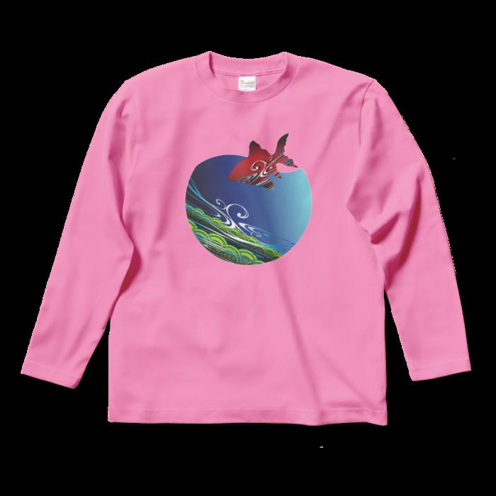ロングスリーブTシャツ - S - ピンク