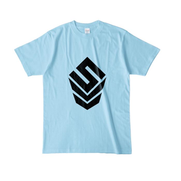 カラーTシャツ(淡色) - L - ライトブルー