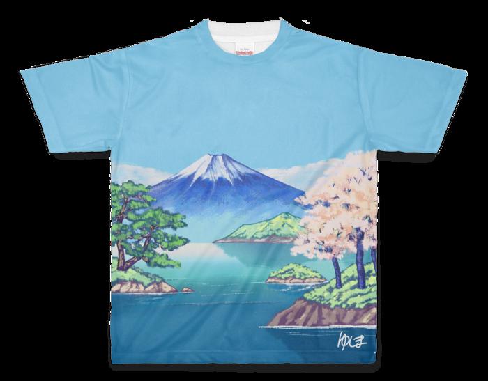 フルグラフィックTシャツ - M - 両面印刷