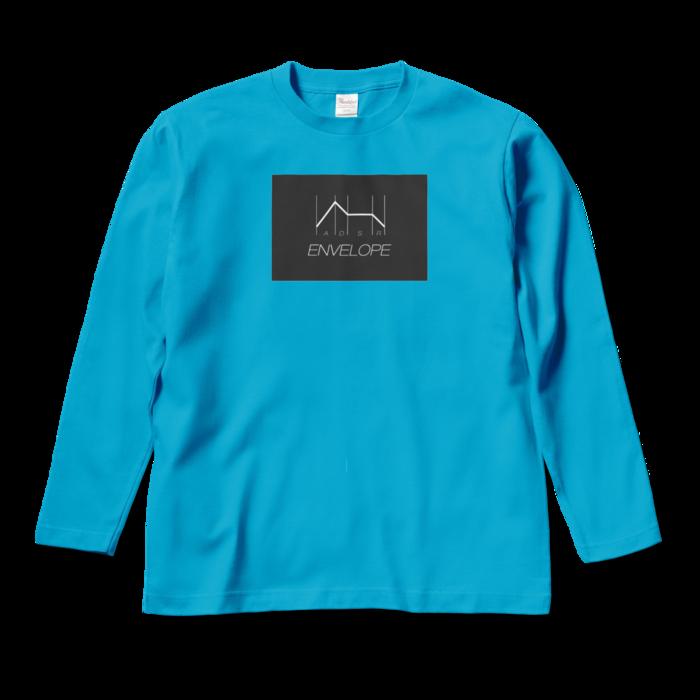 ロングスリーブTシャツ - M - ターコイズ