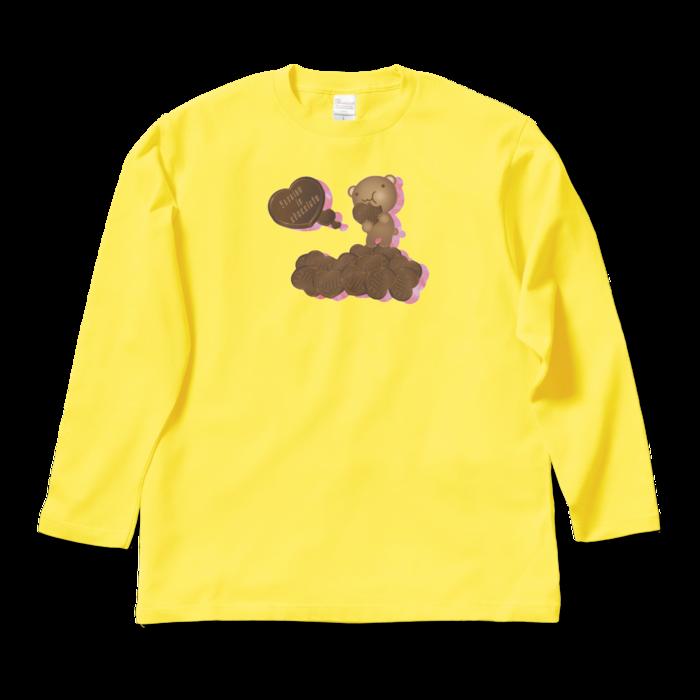 ロングスリーブTシャツ - L - イエロー