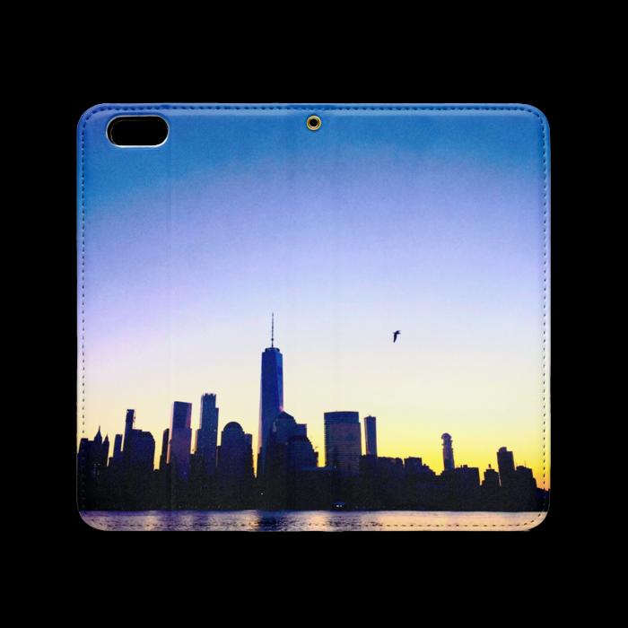 手帳型iPhoneケース(ベルトなし) - iPhone 6 Plus / 6s Plus - ストラップ穴 あり