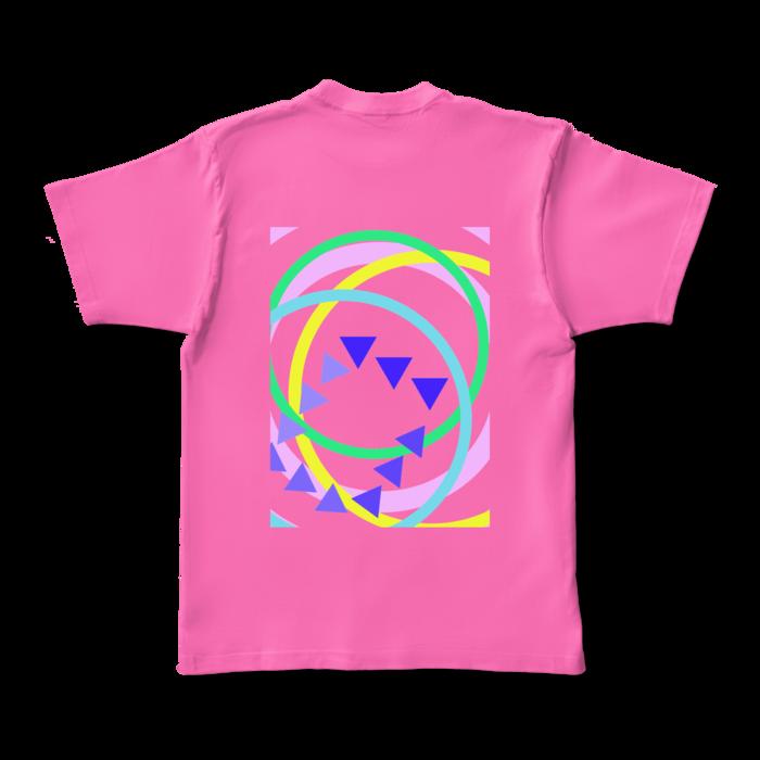 カラーTシャツ - XL - ピンク (濃色)