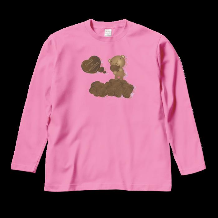 ロングスリーブTシャツ - M - ピンク