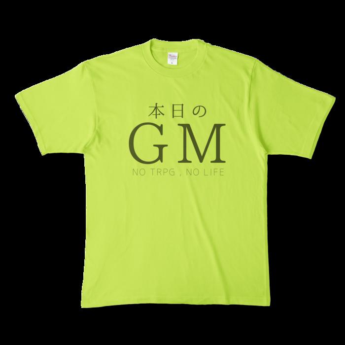 カラーTシャツ - XL - ライトグリーン