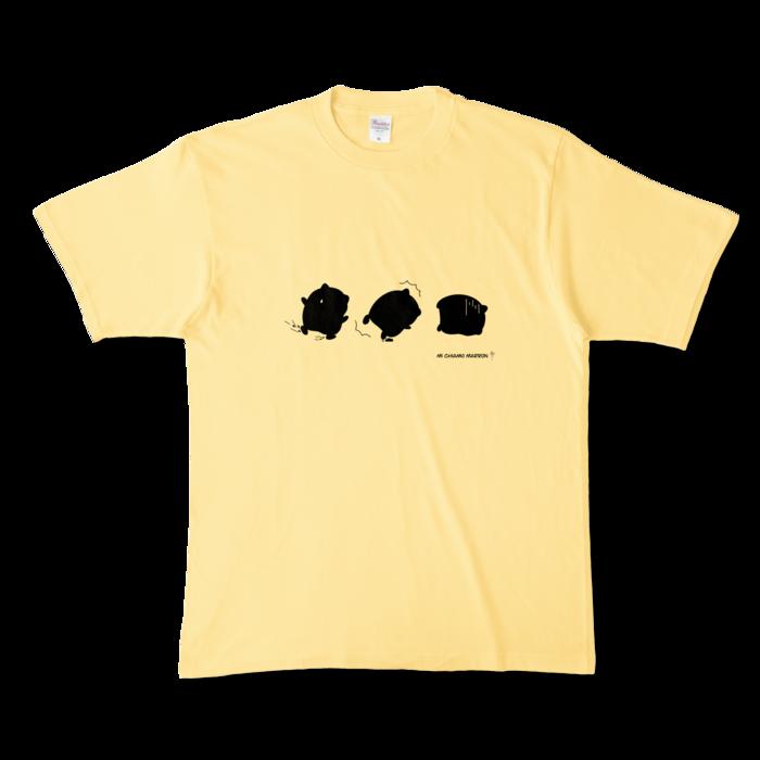 カラーTシャツ - XL - ライトイエロー