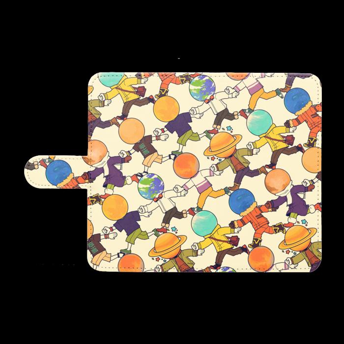 手帳型Androidケース - M - ホワイト