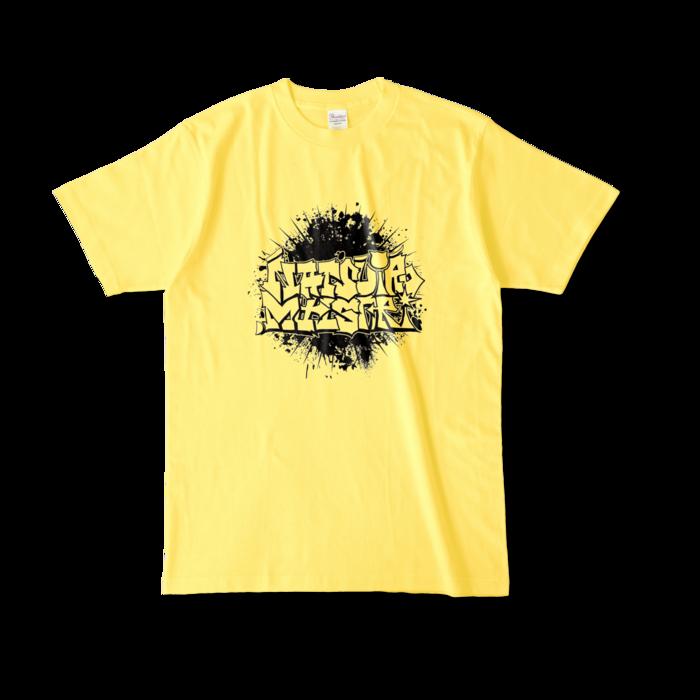 カラーTシャツ - L - イエロー (濃色)