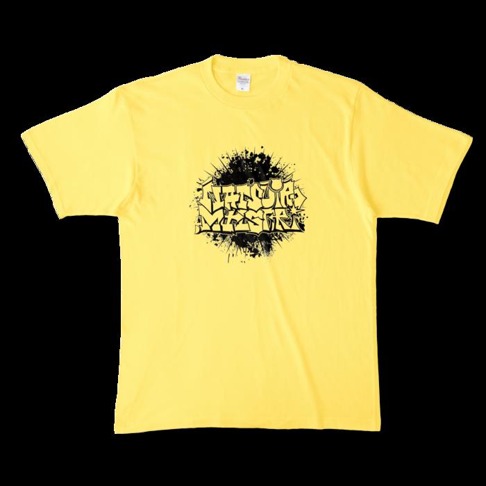カラーTシャツ - XL - イエロー (濃色)