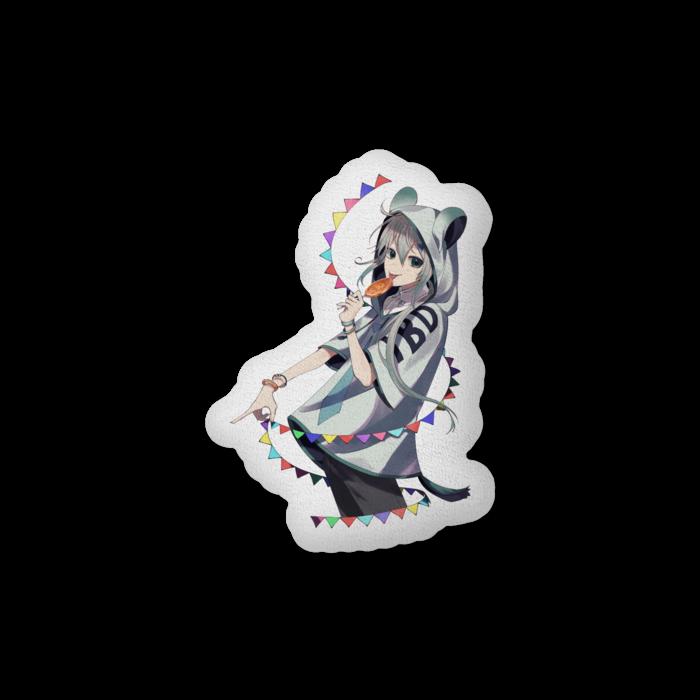 ふかふかクッション - 中(H56×W36cm) - 片面