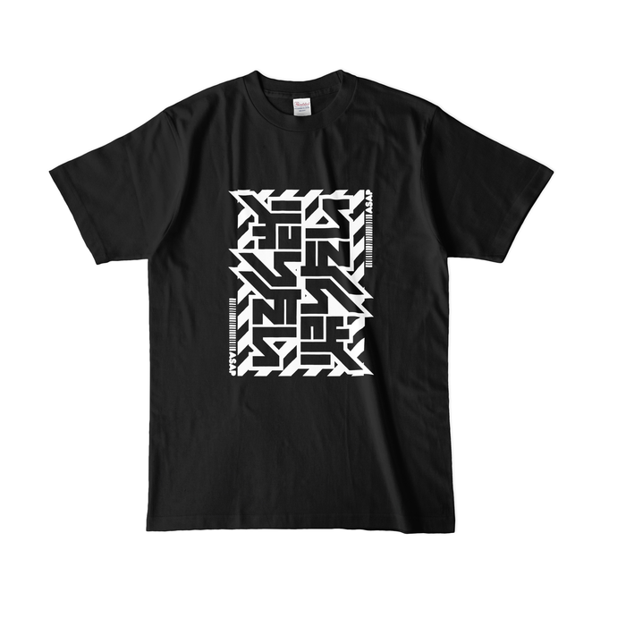 カラーTシャツ(濃色) - L - ブラック