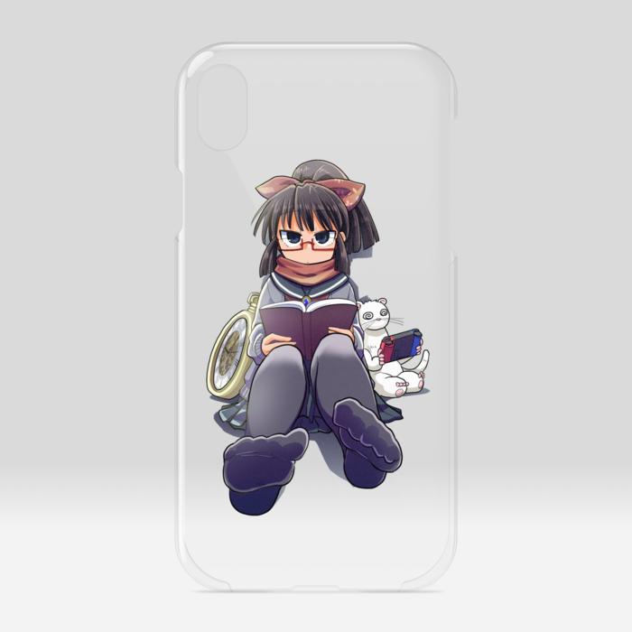 クリアiPhoneケース - iPhone XR