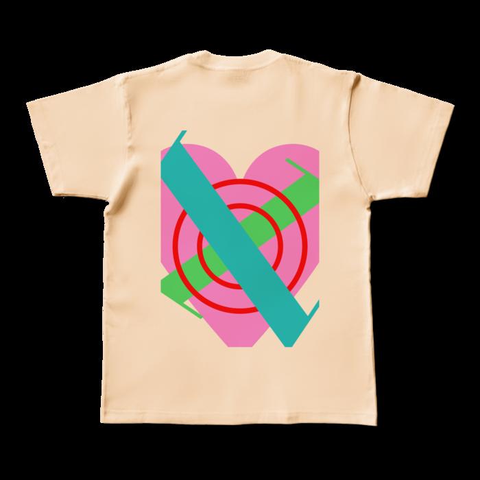カラーTシャツ - M - ナチュラル (淡色)