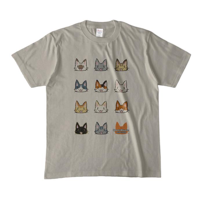 カラーTシャツ(淡色) - M - シルバーグレー