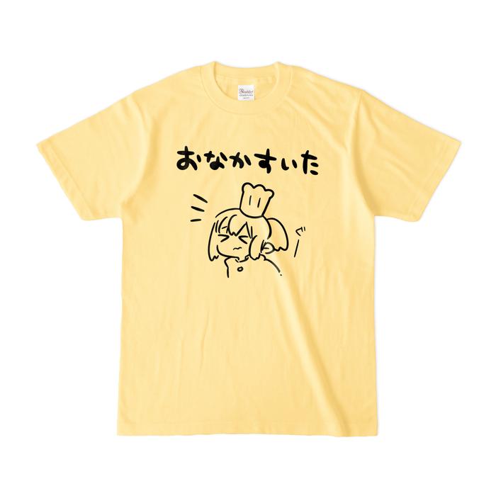 カラーTシャツ(淡色) - S - ライトイエロー