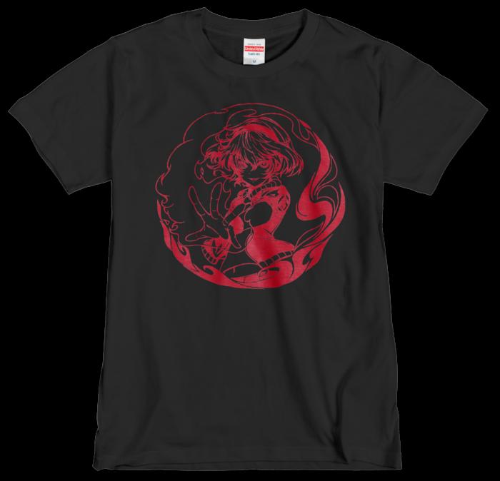 Tシャツ(シルクスクリーン印刷) - M - 赤色