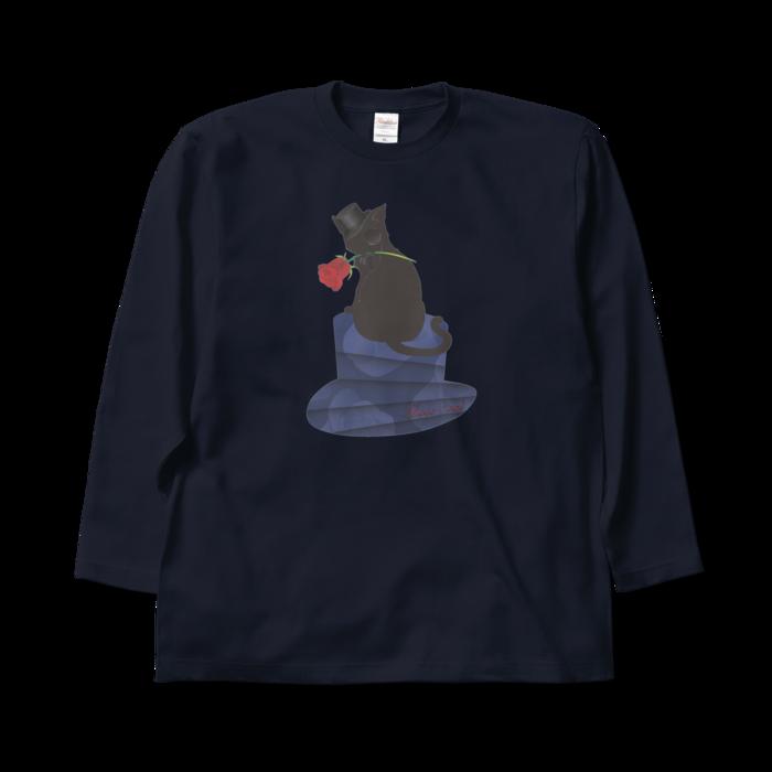 ロングスリーブTシャツ - XL - ネイビー