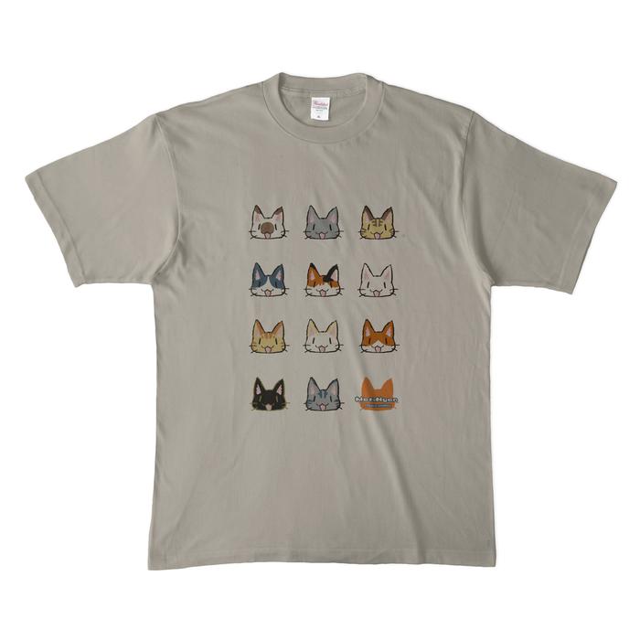 カラーTシャツ(淡色) - XL - シルバーグレー