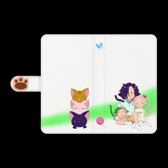 手帳型Androidケース - L