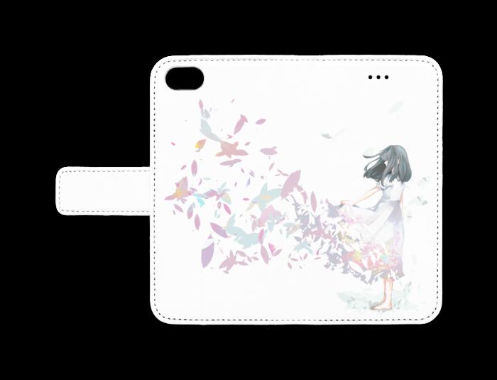 手帳型iPhoneケース - iPhone 7 - ストラップ穴 なし