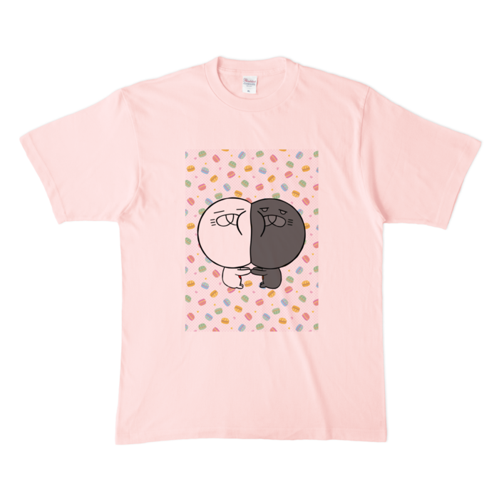 カラーTシャツ(淡色) - XL - ライトピンク