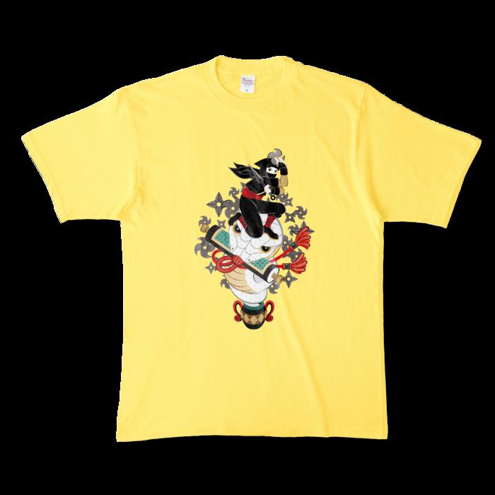 カラーTシャツ - XL - イエロー