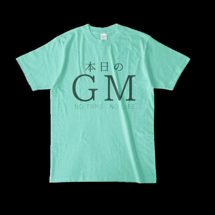 カラーTシャツ - L - アイスグリーン