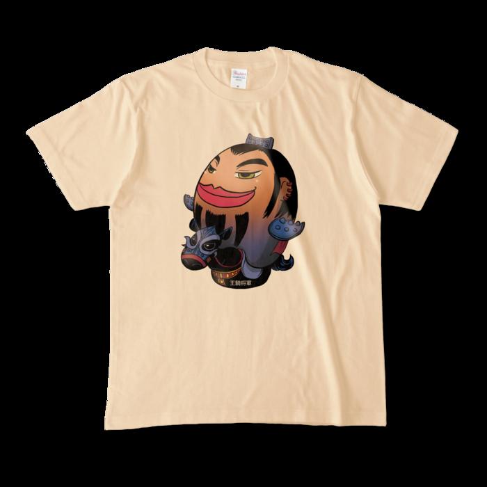 カラーTシャツ - M - ナチュラル