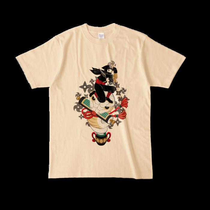 カラーTシャツ - L - ナチュラル