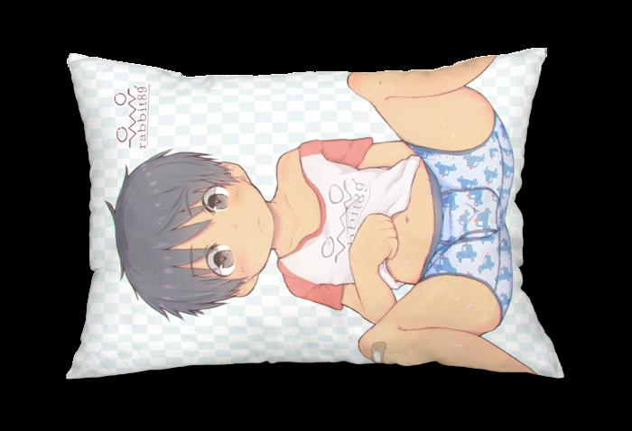 枕カバー② - 43x63cm - 両面