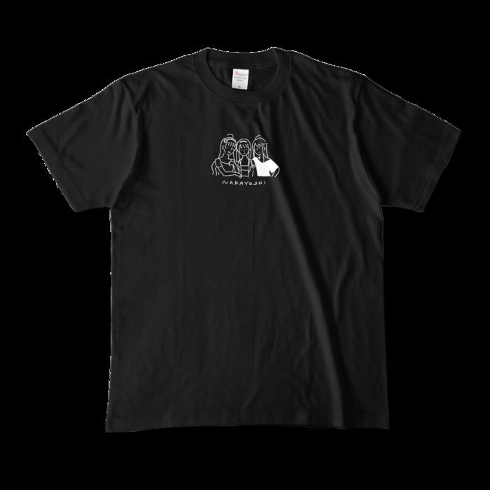 カラーTシャツ - M - ブラック