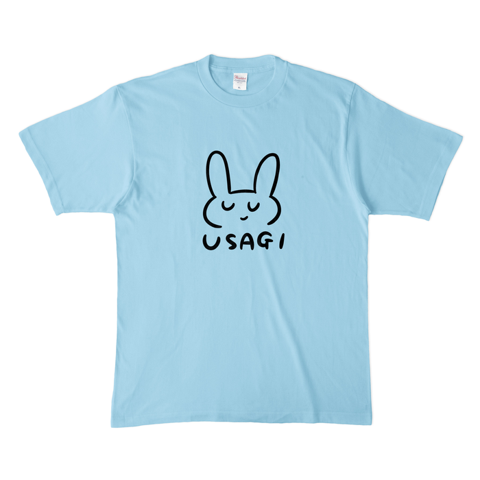 カラーTシャツ(淡色) - XL - ライトブルー