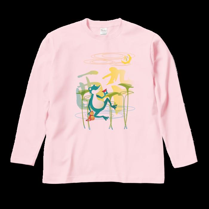 ロングスリーブTシャツ - M - ライトピンク