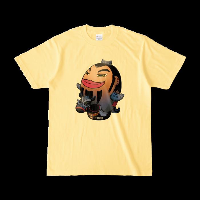 カラーTシャツ - S - ライトイエロー