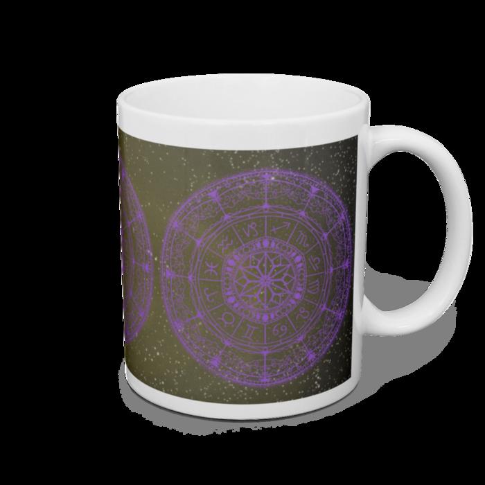マグカップ 紫色の魔法陣