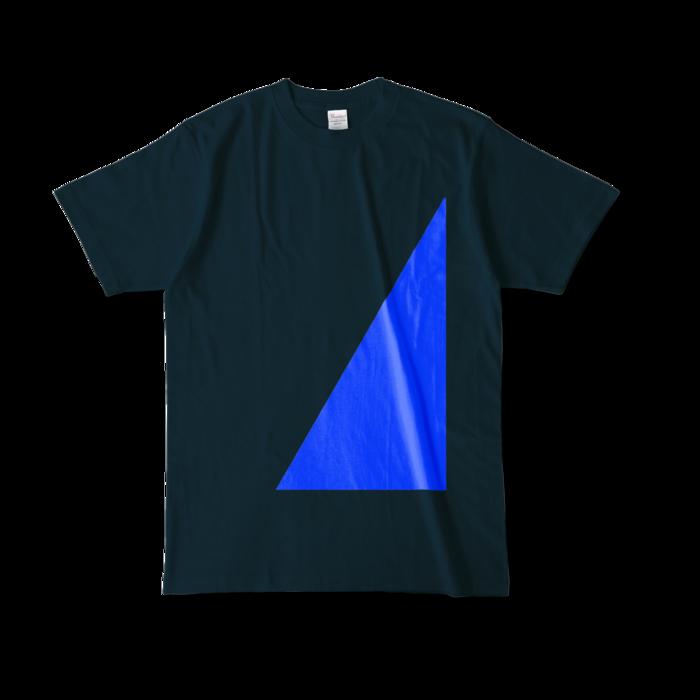 カラーTシャツ - L - ネイビー (濃色)