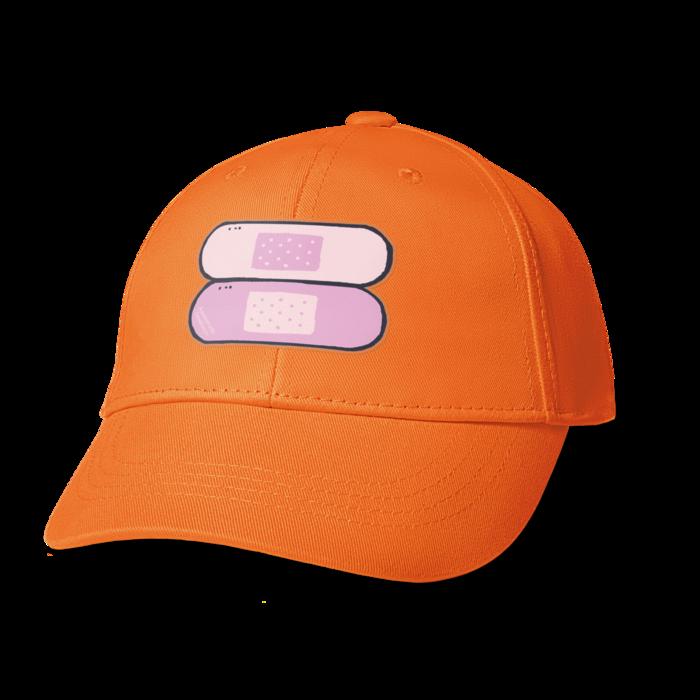 絆創膏 - オレンジ