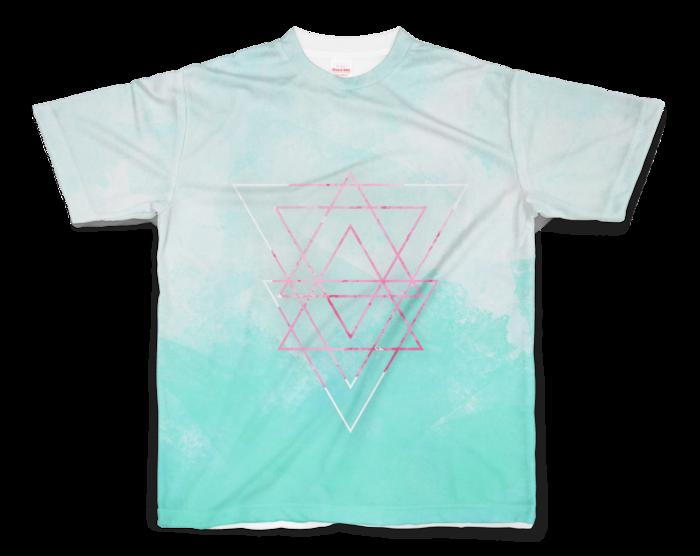 フルグラフィックTシャツ - S - 正面印刷のみ