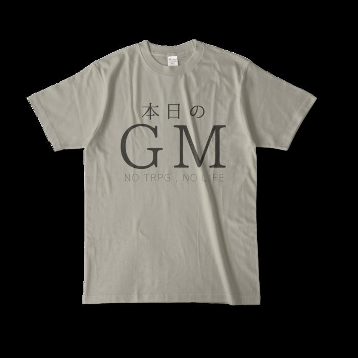 カラーTシャツ - L - シルバーグレー