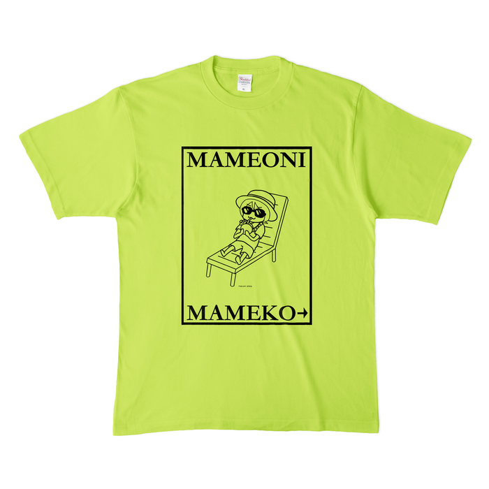 カラーTシャツ(淡色) - XL - ライトグリーン