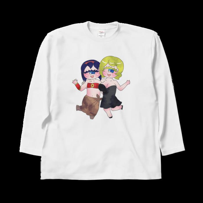 ロングスリーブTシャツ - XL - 正面
