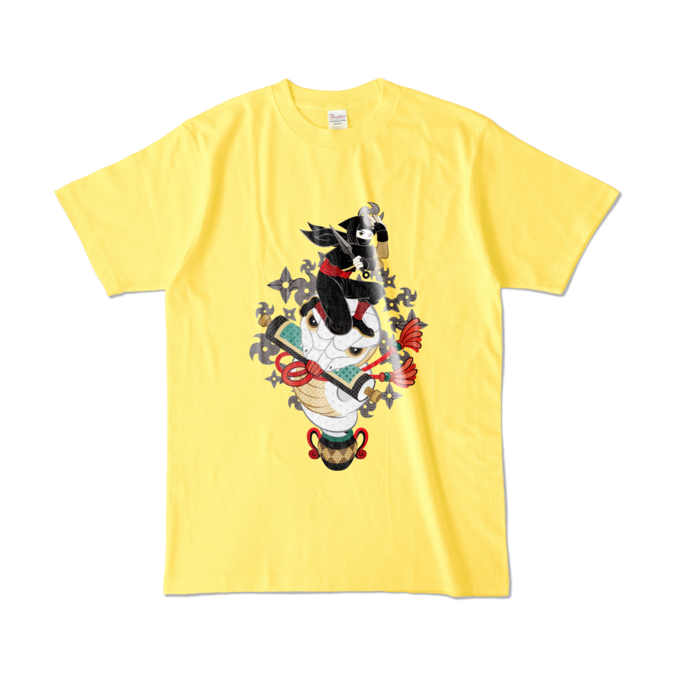 カラーTシャツ - L - イエロー