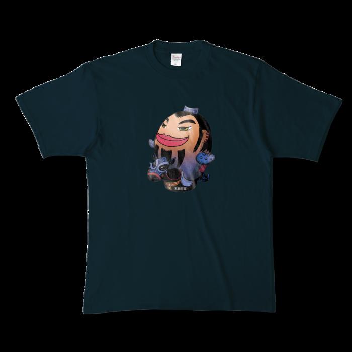 カラーTシャツ - XL - ネイビー