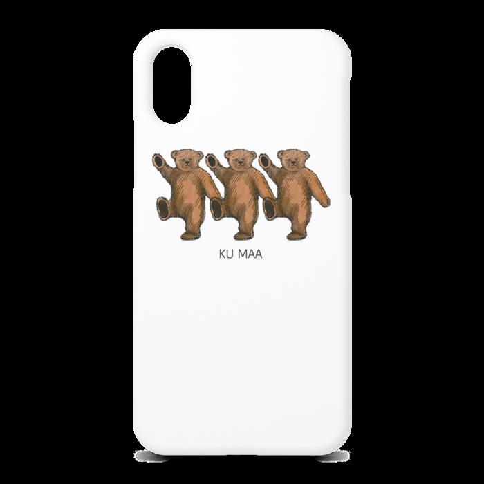 くまー2 - iPhone X - 正面印刷のみ