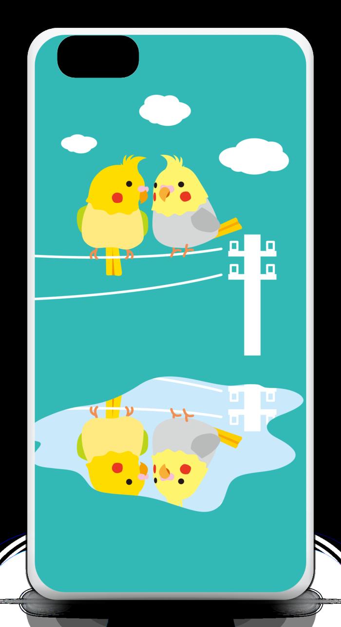 【ブルー】iPhone6 Plusケース