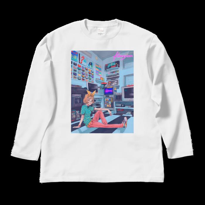 ロングスリーブTシャツ - L - ホワイト