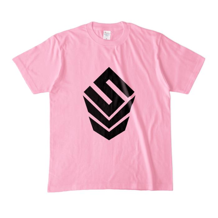 カラーTシャツ(淡色) - M - ピーチ